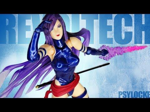 KAIYODO Figure Complex Amazing Yamaguchi No.010 PSYLOCKE Revoltech