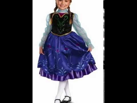 Buy Anna Frozen Costume for girls adult kids halloween 2014  sc 1 st  YouTube & Buy Anna Frozen Costume for girls adult kids halloween 2014 - YouTube