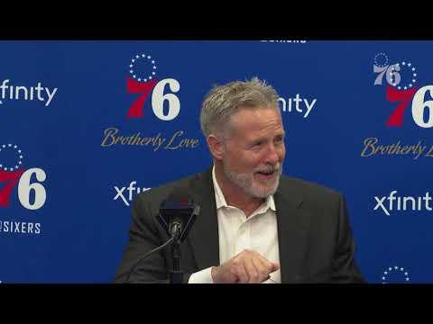 Brett Brown | Postgame Media Availability vs New York Knicks (11.28.18)
