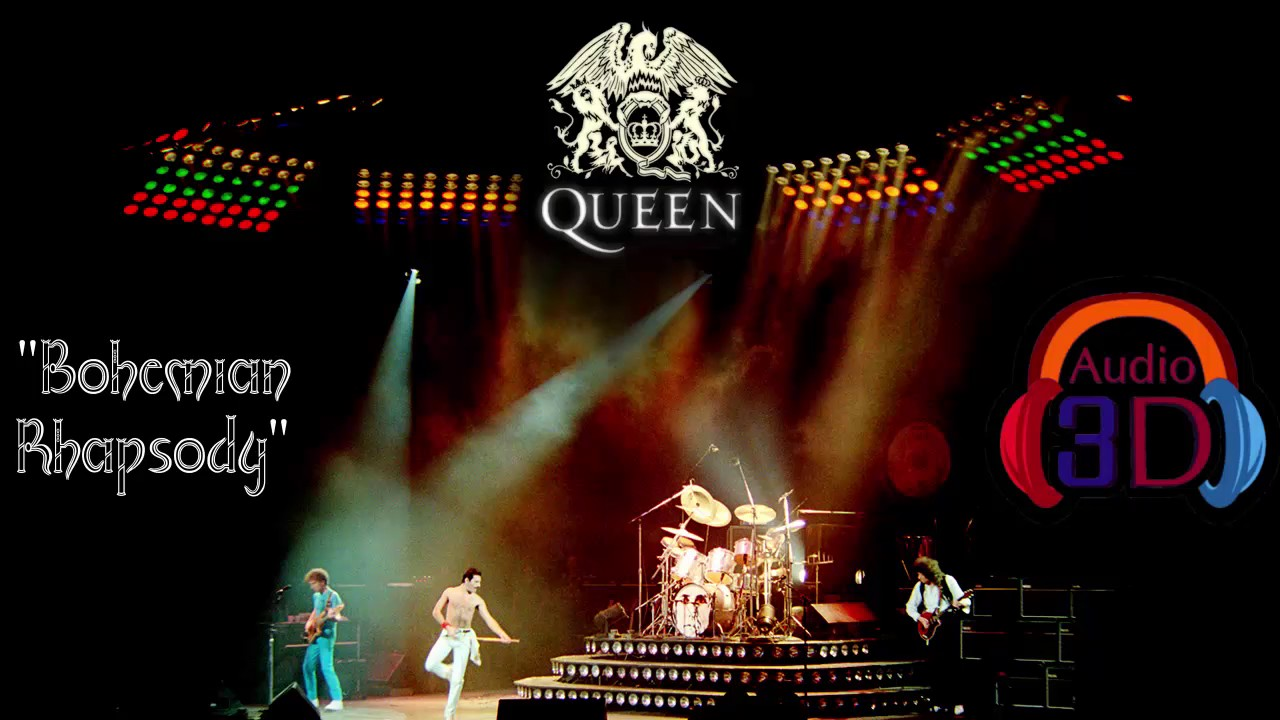 """Bohemian Rhapsody"" - Queen - Audio 3D (Homophony) by ..."