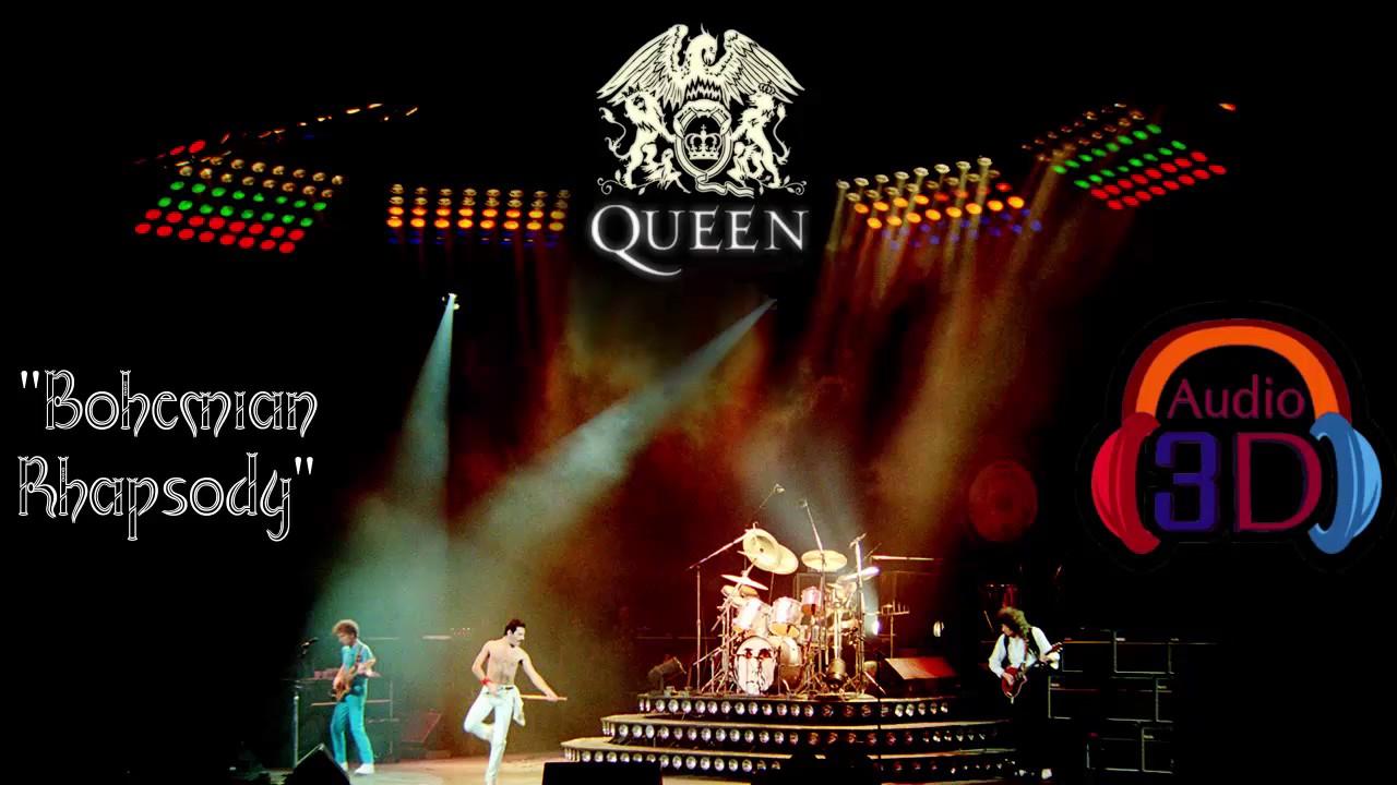 Bohemian Rhapsody Queen Audio 3d Homophony By