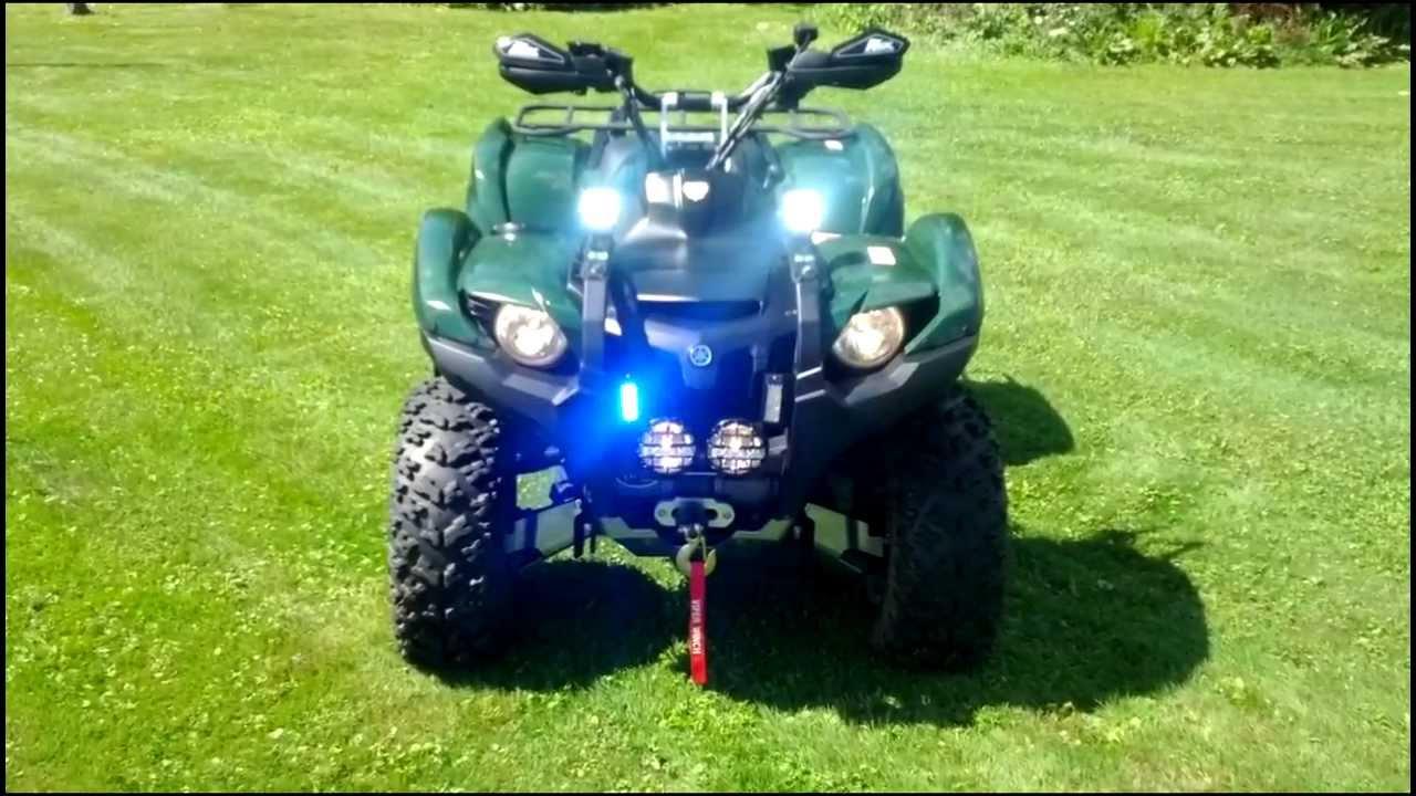 Custom Wheels For Yamaha Grizzly