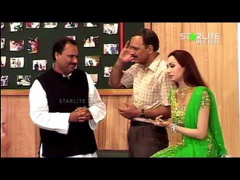 Best Of Abid Kashmiri and Naseem Vicky New Pakistani Stage Drama Full Comedy Clip   Pk Mast