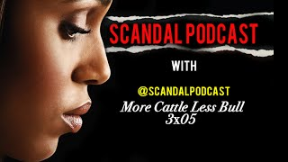 Scandal Podcast | More Cattle Less Bull 3x05 Review