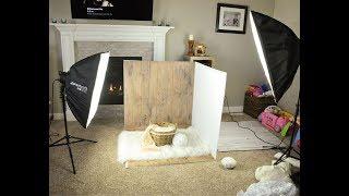 Setup For Baby photo shoot    cinematic video of anday wala burger
