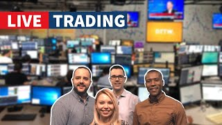 DOW ⬆️2,000? - Best Stocks to Trade on NYSE & NASDAQ (Day Trading Live)