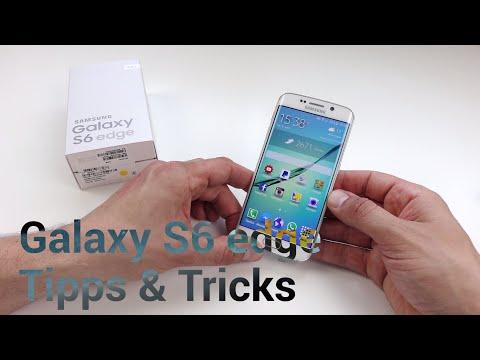 18 Tipps & Tricks: Samsung Galaxy S6 edge (deutsch)