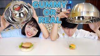 Thử Thách Gummy Or Real - Kẹo Dẻo Hay Đồ Ăn Thật