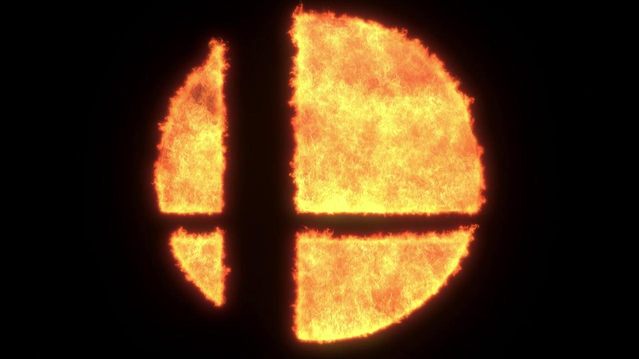Super Smash Bros. Ultimate Fire Logo