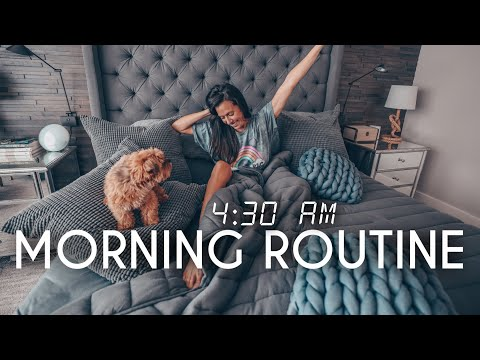 4:30 AM Morning Routine | How to Wake up Early