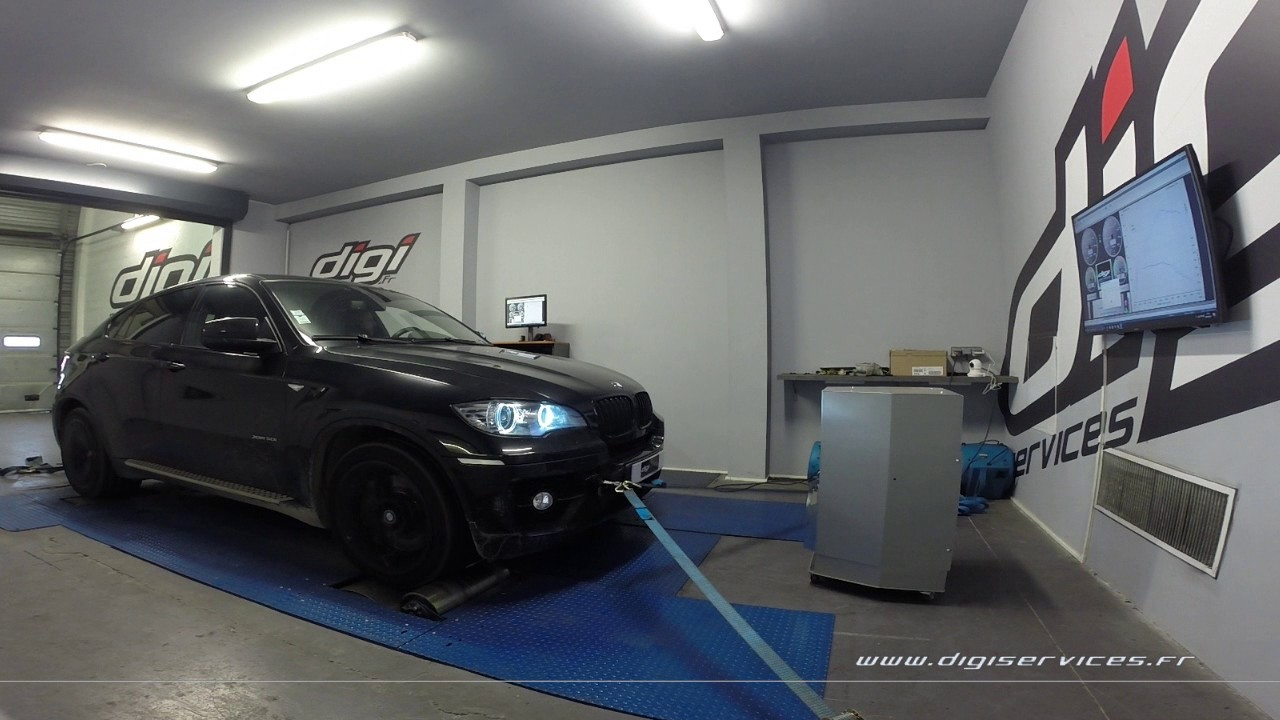 bmw x6 50i 407cv auto reprogrammation moteur 476cv digiservices paris 77 dyno youtube. Black Bedroom Furniture Sets. Home Design Ideas