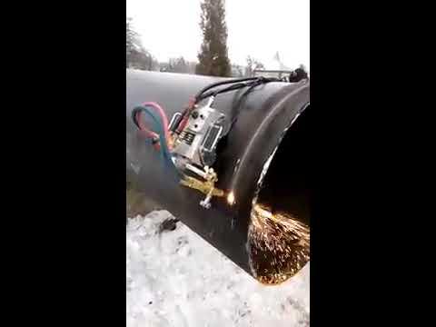 Машина газовой резки труб CG2-11A