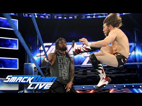 Team Hell No takes on The Usos in their first match in five years: SmackDown LIVE, July 3, 2018