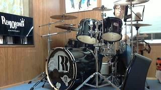 レミオロメン「粉雪」のドラムをしました。イヤホンで聴くといいですよ...