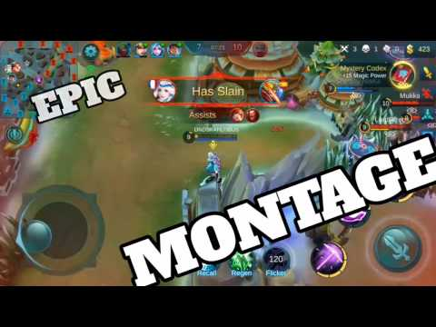 Mobile Legends - EPIC MONTAGE!!!! (Kagura & Chou OP!!!)