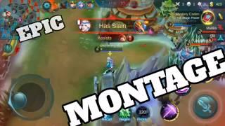 Mobile Legends - EPIC MONTAGE!!!! (Kagura & Chou OP!!!)