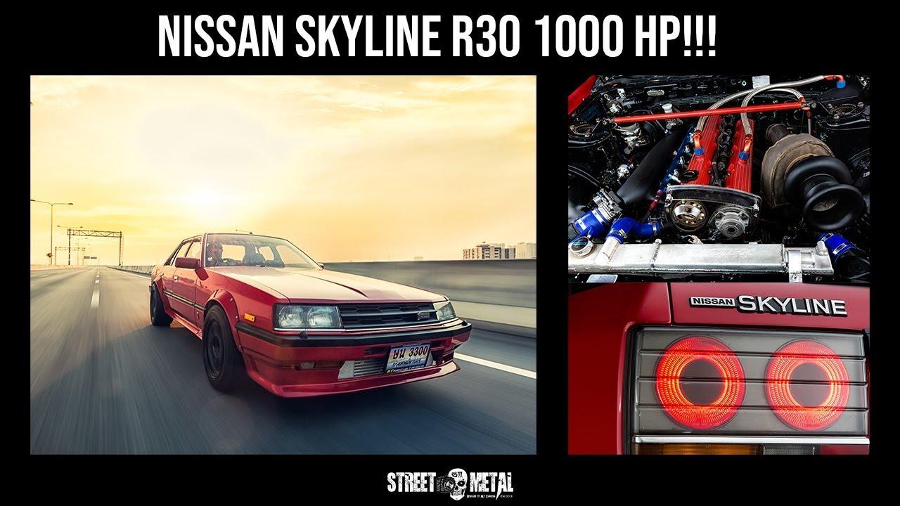 Streetmetal : SKYLINE R30 RB25DET 1000 HP