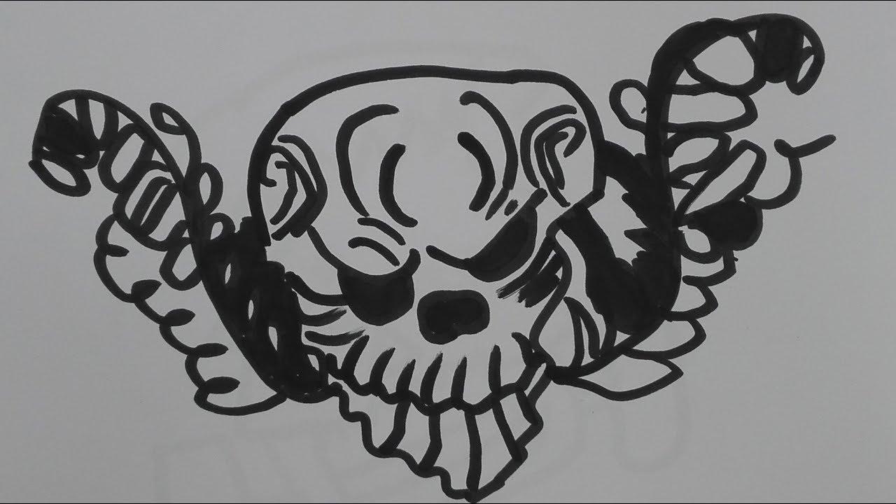 How To Draw A Flower Skull Draw A Sugar Skull Woman Sugar Skull