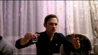 Павлик наркоман.Самый ржачный новогодний тост. 31.12.14...