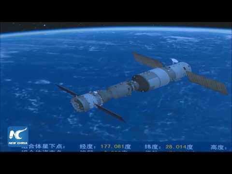 Live: China's Shenzhou-11 spacecraft docks with space lab Tiangong-2