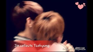 Jin Collected His Taehyung || Taejin Moments Small Compilation