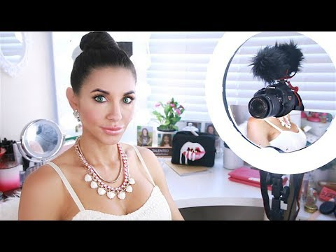 BEST RING LIGHT FOR YOUTUBE BEAUTY VIDEOS - BEST LIGHTING FOR BEAUTY VIDEOS | Kimbyrleigha