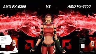 AMD FX-6300 VS AMD FX-8350 Performance Test - 60FPS