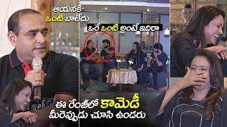 Hero Nani andamp; Suma Making Hilarious FUN on Director Vikram | Gang Leader interview