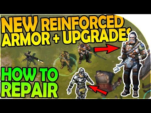NEW REINFORCED ARMOR, ARMOR UPGRADES - HOW TO REPAIR ARMOR - Last Day On Earth Survival 1.6.4 Update