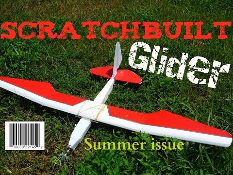Scratchbuild Dollar Tree foamboard RC glider / sailplane