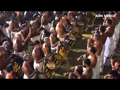 Arattupuzha Pooram 2016 Panchari  Melam 5