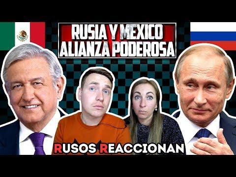 🇷🇺RUSOS REACCIONAN a MÉXICO y RUSIA: PODEROSA ALIANZA QUE ESTREMECERÁ AL MUNDO 🇲🇽