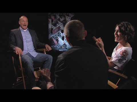 Woody Harrelson Hilariously Crashes Interview with Dave Franco & Lizzy Caplan