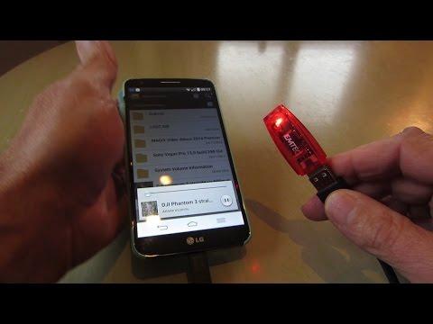 comment lire les fichiers d'une clé usb sur un smartphone