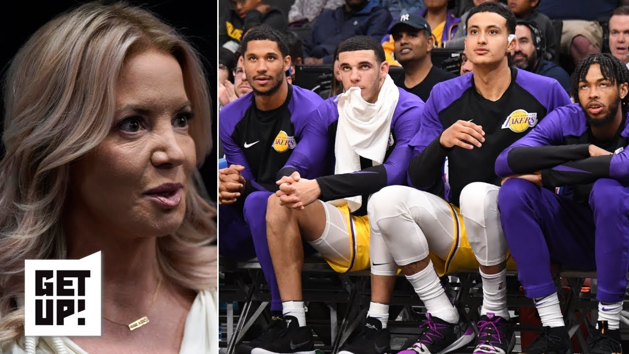 The Lakers know Jeanie Buss is lying about Anthony Davis trade rumors  – Mike Greenberg | Get Up!