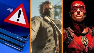 PS4 Message Bug Fixed? + Rockstar Denies 100 Hour Work Weeks + Flash Movie Delayed Again