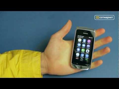 Видео обзор Nokia Asha 309 от Сотмаркета