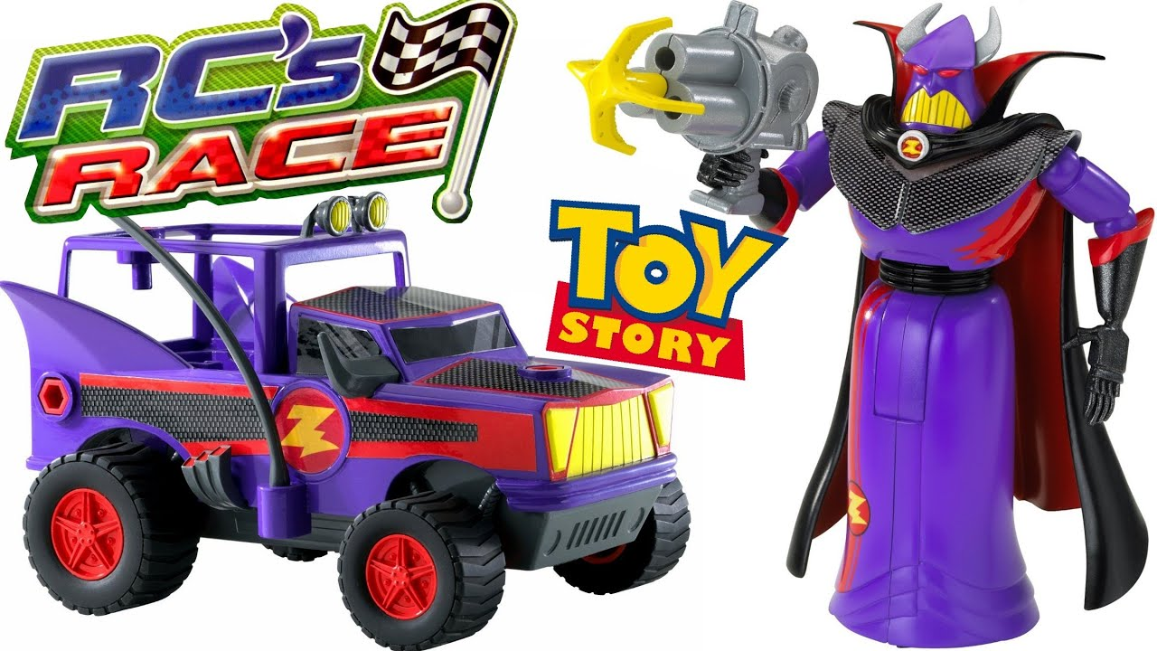 Emperor Zurg With Grappling Hook Racing Cars Rcs Toy Story