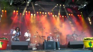 Hot This Year Band and Norris Man - Created By The Father riddim at Uppsala Reggae Festival 2011