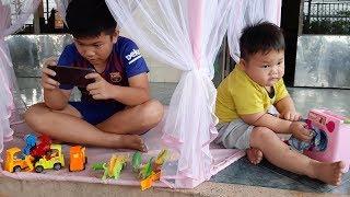 Đồ Chơi Trẻ Em Bé Pin Người Mẹ Không Công Bằng❤ PinPin TV ❤ Baby Toys Mother unfair
