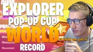 Explorer Pop-up Cup Duo World Record!