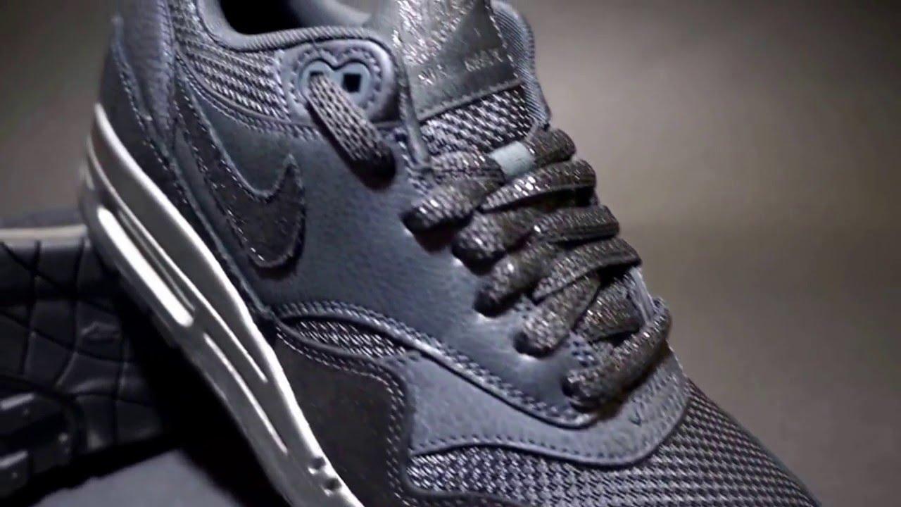 Wmns Nike Air Max 1 Premium Anthracite Metallic Hematite