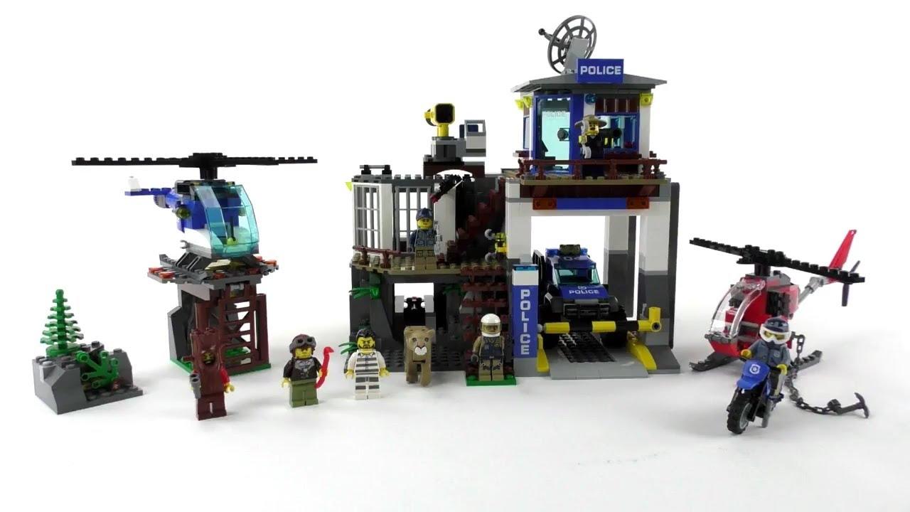 Lego City Set 60174 Hauptquartier Der Bergpolizei Unboxing