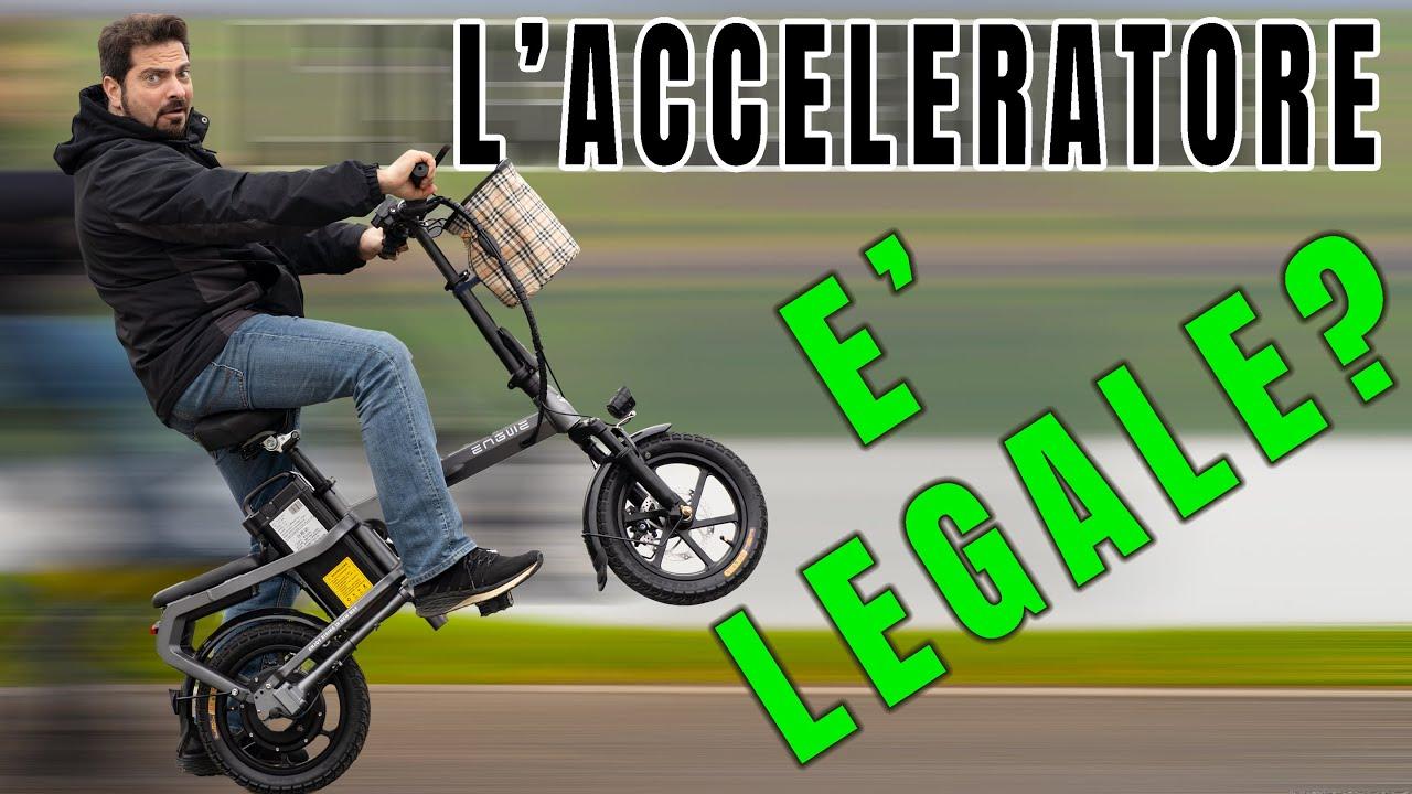 Engwe X5S MINI Bici Elettrica a TRASMISSIONE CARDANICA!