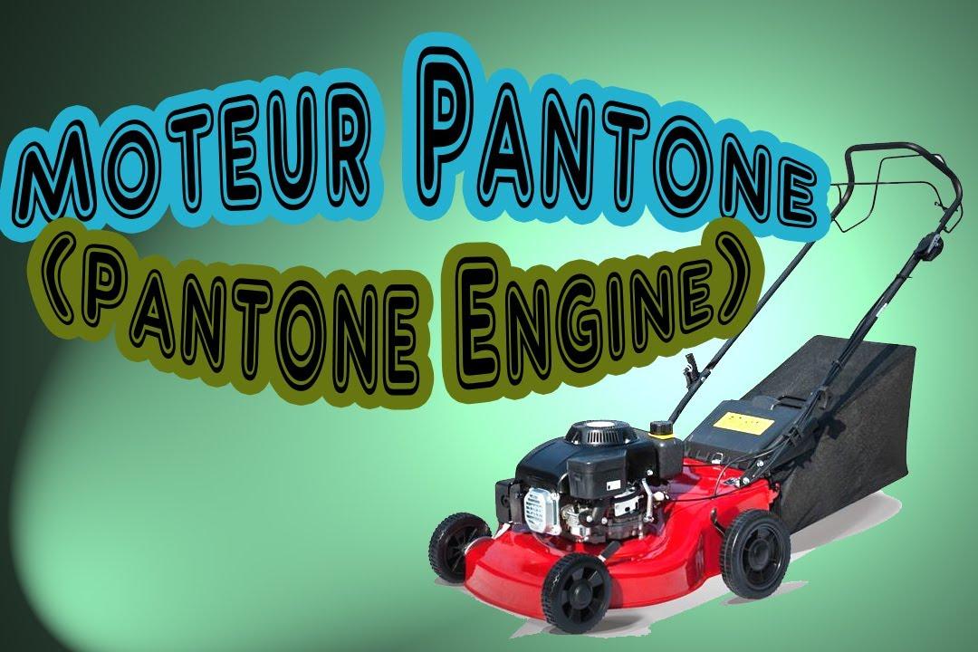 moteur pantone sur tondeuse pantone engine hd youtube. Black Bedroom Furniture Sets. Home Design Ideas