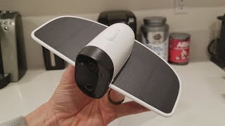 Soliom Solar Security Camera Review – No Wires Runs On Solar Power!