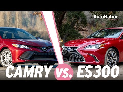 2019 Lexus ES300 Vs Toyota Camry - Which Is Right For You? #autonationdrive