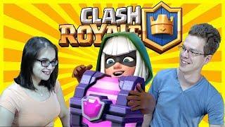 Ládanyitós live Barátnőmmel ^^ Clash Royale