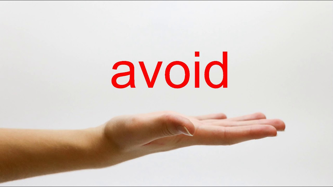 How to Pronounce avoid - American English