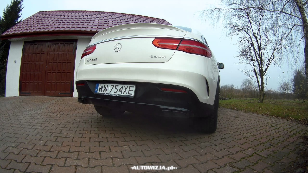 Mercedes Gle 43 Amg Coupe Brutal Start Up Sound Revs Exhaust Sound